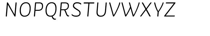 St Ryde Light Italic Font UPPERCASE