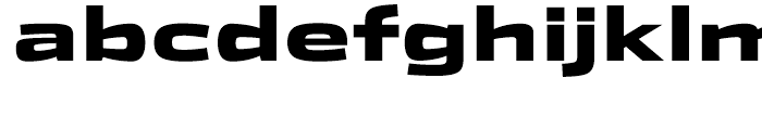 Stainless Extended Black Font LOWERCASE