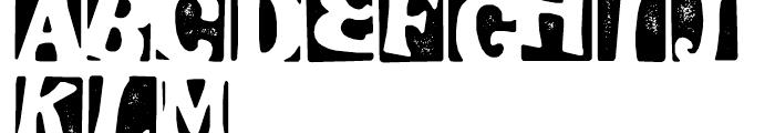 Stampoo Regular Font UPPERCASE