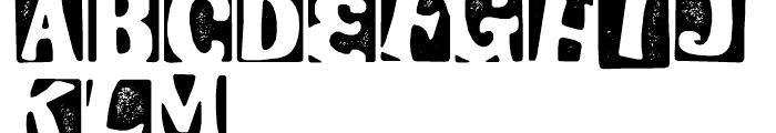 Stampoo Regular Font LOWERCASE