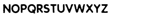 Stampwork Regular Font LOWERCASE