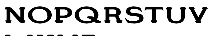 Stannard No 4 Regular Font UPPERCASE