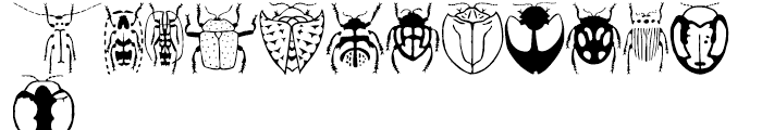 Stans Callicess Beetles Regular Font LOWERCASE