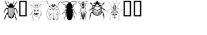 Stans Gorgiass Beetles Regular Font OTHER CHARS