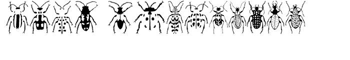 Stans Poluss Beetles Regular Font UPPERCASE