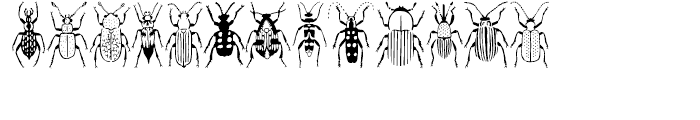 Stans Poluss Beetles Regular Font LOWERCASE