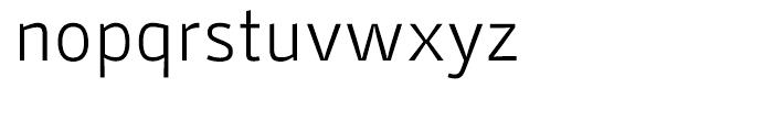 Stat Display Pro Light Font LOWERCASE