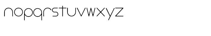 Stefani EHYO Thin Font LOWERCASE