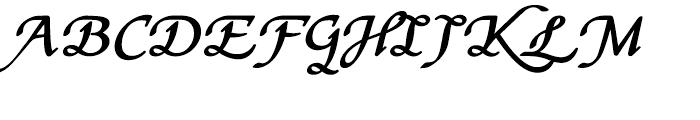 Stefania Bold Font UPPERCASE