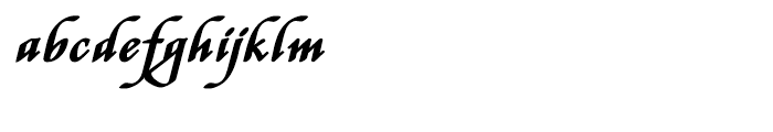 Stefania Bold Font LOWERCASE