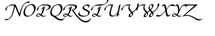 Stefania Regular Font UPPERCASE