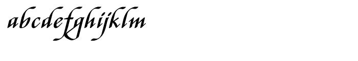 Stefania Regular Font LOWERCASE