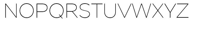 Stem Thin Font UPPERCASE