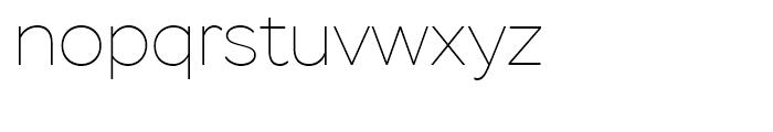 Stem Thin Font LOWERCASE