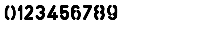 Stemplate Fat Font OTHER CHARS