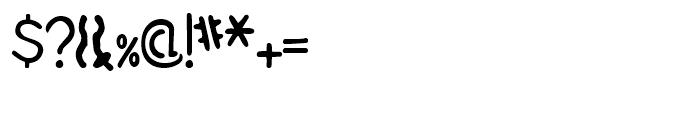 Stemplate Regular Font OTHER CHARS