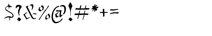 Stenblak Regular Font OTHER CHARS