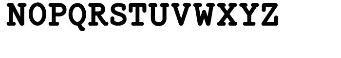 Steno Stout NF Regular Font UPPERCASE