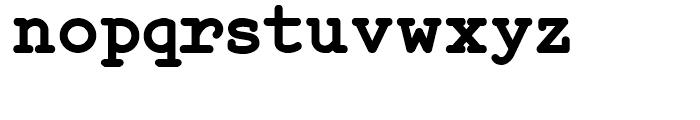 Steno Stout NF Regular Font LOWERCASE