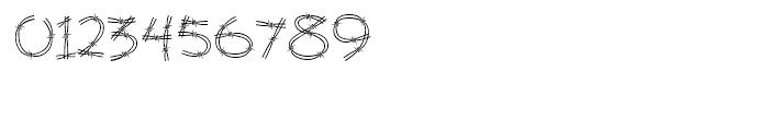 Stingwire BT Regular Font OTHER CHARS