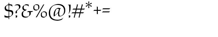 Stockholm Regular Font OTHER CHARS