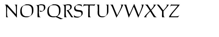 Stockholm Regular Font UPPERCASE