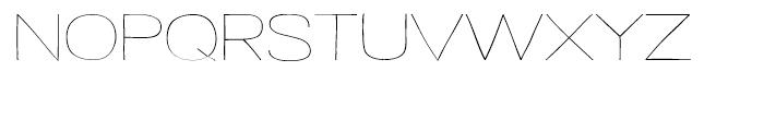 Strangelove Next Wide Font LOWERCASE