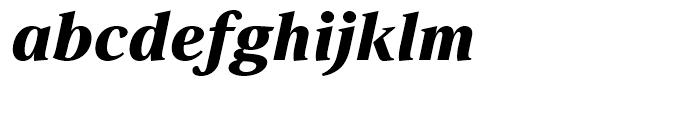 Strato Pro Black Italic Font LOWERCASE