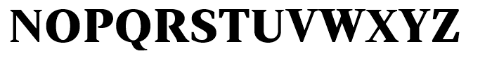 Strato Pro SC Black Font UPPERCASE