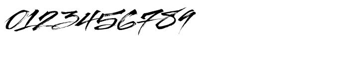 Streetbrush Regular Font OTHER CHARS