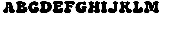 Strollin NF Regular Font UPPERCASE