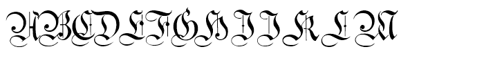 Students Alphabet Regular Font UPPERCASE