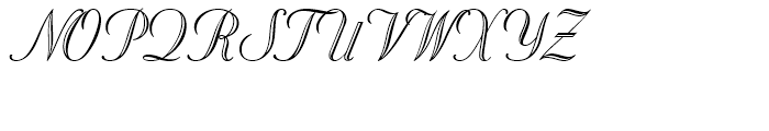 Stuyvesant BT Regular Engraved Font UPPERCASE