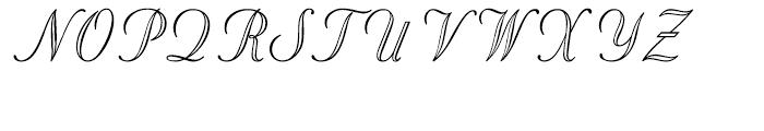 Stuyvesant Engraved Engraved Font UPPERCASE