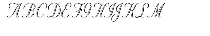 Stuyvesant Engraved Font UPPERCASE