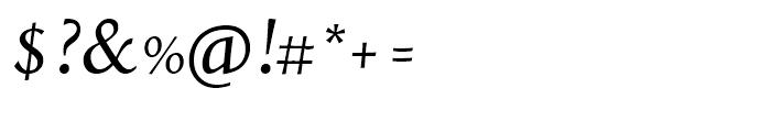 Styla Pro Italic Font OTHER CHARS