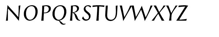 Styla Pro Italic Font UPPERCASE