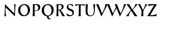 Styla Pro Regular Font UPPERCASE
