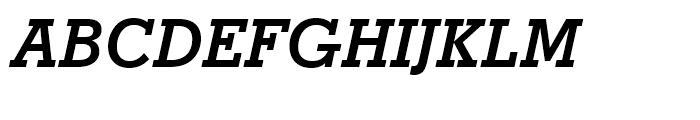 Stymie Bold Italic Font UPPERCASE