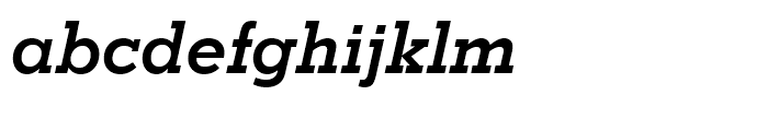 Stymie Bold Italic Font LOWERCASE