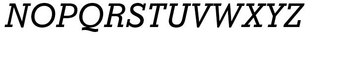 Stymie Medium Italic Font UPPERCASE