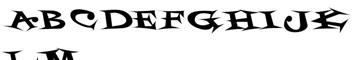 Styrofoam Feelings Regular Font UPPERCASE