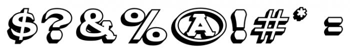 Stannard No1 Regular Font OTHER CHARS