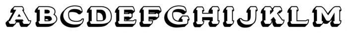 Stannard No1 Regular Font LOWERCASE