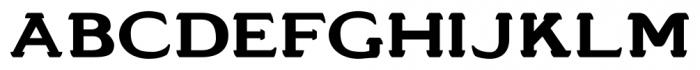 Stannard No4 Regular Font UPPERCASE