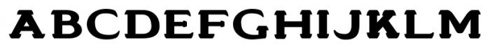 Stannard No4 Regular Font LOWERCASE