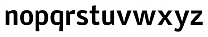 Stat Display Pro Bold Negative Font LOWERCASE