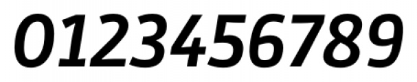 Stat Display Pro Bold Oblique Negative Font OTHER CHARS