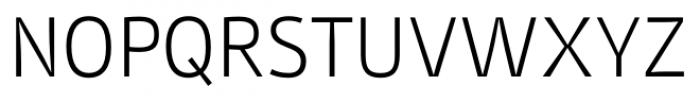 Stat Display Pro Light Negative Font UPPERCASE