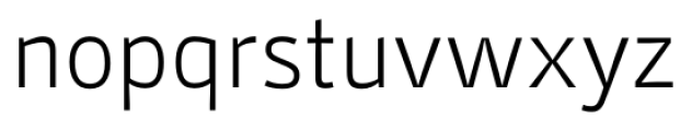 Stat Display Pro Light Negative Font LOWERCASE